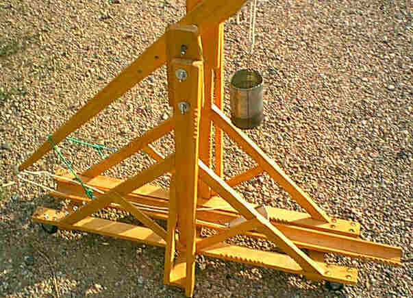 simple catapult design. Trebuchet